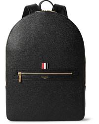 Thom Browne Pebble Grain Leather Backpack