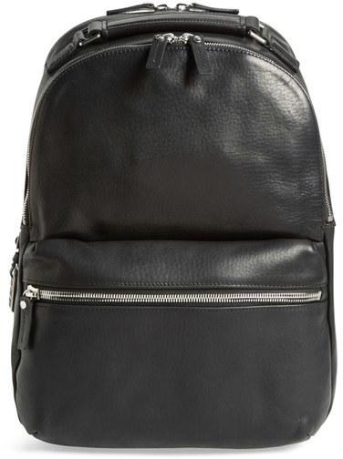 ... Shinola Runwell Leather Laptop Backpack ... aa3e424fb