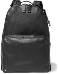 Studded full grain leather backpack medium 1245930