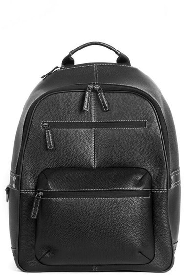 bb190ad0cd67 ... Boconi Tyler Rfid Leather Backpack ...