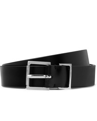 Maison Margiela 25cm Black Leather Belt