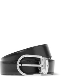 3cm black leather belt medium 585797