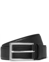 f989738c80 Men's Black Leather Belts by Prada | Men's Fashion | Lookastic UK