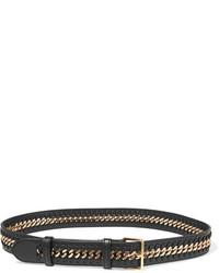 Stella McCartney Falabella Faux Leather Belt Black