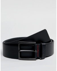 Hugo Gionio Leather Belt In Black