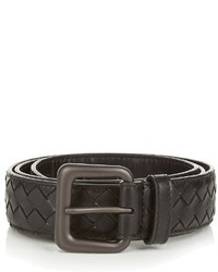 Bottega Veneta Intrecciato Leather 35cm Belt