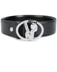 Versace Jeans Monogram Buckle Belt