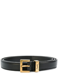Saint Laurent Monogram Passant Buckle Belt