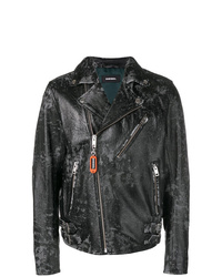 Diesel Distressed Biker Jacket