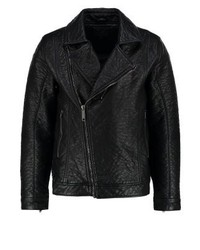 Faux leather jacket black medium 3831611