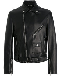 Versace Leather Biker Jacket