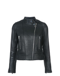 Derek Lam 10 Crosby Leather Moto Jacket