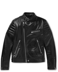 Tom Ford Slim Fit Leather Jacket