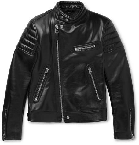 Tom Ford Slim Fit Leather Jacket