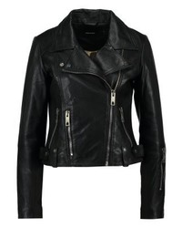 Vero Moda Vmnabba Leather Jacket Black