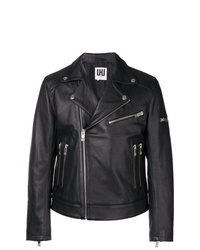 Les Hommes Urban Zipped Pocket Biker Jacket