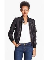 Smythe Leather Bomber Jacket