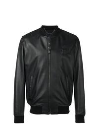 Billionaire Leather Bomber Jacket