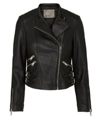 Leather jacket black beauty medium 3993096