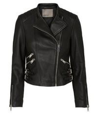 Vero Moda Leather Jacket Black Beauty