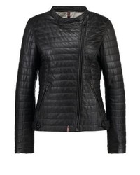 Leather jacket black medium 3993100