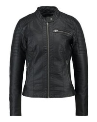 detailed look 21b9e 32ddf Women's Black Leather Bomber Jackets from Zalando | Women's ...
