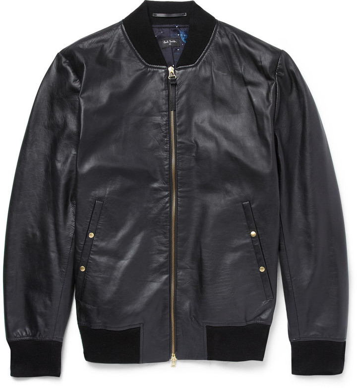 Ps how amp; wear Bomber By to Jacket Leather to buy Smith Where Paul ZS5zqnRz