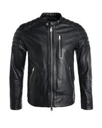 Oakwood Speed Leather Jacket Black