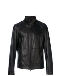 Michael Kors Zip Up Racer Jacket