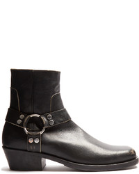 Leather ankle boots medium 1156335