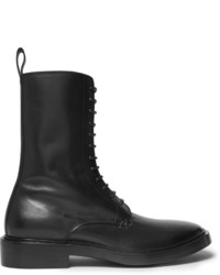 Leather derby combat boots medium 1138678
