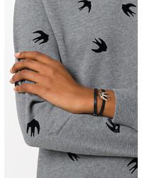 MCQ Alexander Ueen Swallow Bracelet
