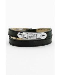 Rebecca Minkoff Studded Wrap Leather Bracelet