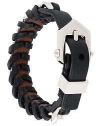 Woven buckled bracelet medium 753010