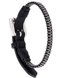 Diesel Zipper Bracelet