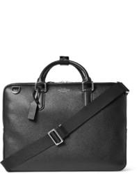 Burlington grained leather briefcase medium 738996