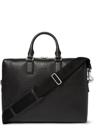 Grained leather briefcase medium 680566