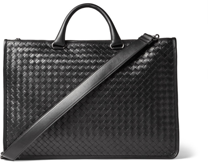 ecd6a26535 ... Bottega Veneta Intrecciato Leather Briefcase ...