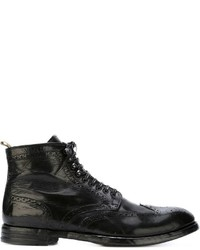 Officine Creative Brogue Boots