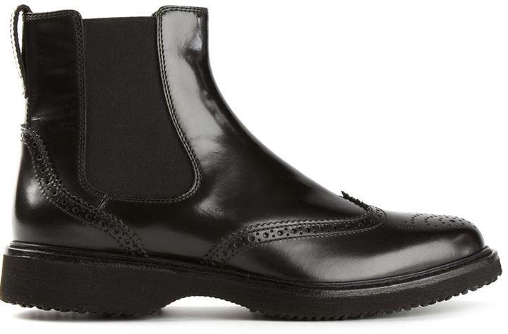 738756a05a042 ... Hogan Brogue Chelsea Boots