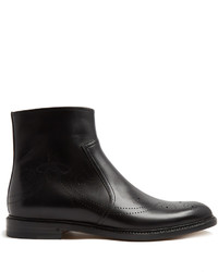 Leather ankle boots medium 1198454