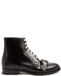 Queercore leather brogue boots medium 1198453