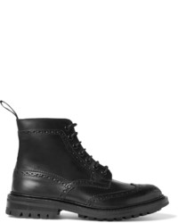 Stow leather brogue boots medium 700824