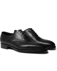 Edward Green Inverness Leather Wingtip Brogues