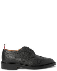 Thom Browne Pebble Grain Leather Longwing Brogues