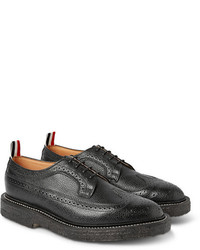 Thom Browne Pebble Grain Leather Wingtip Brogues