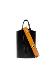 Danse Lente Black Lorna Mini Leather Shoulder Bag