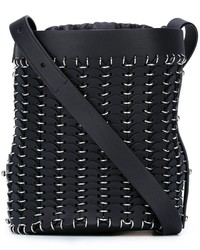 Chain mail bucket shoulder bag medium 820757