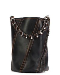 Proenza Schouler Medium Hex Stitch Bucket Bag