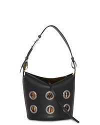 Burberry The Medium Bucket Bag In Grommeted Leather
